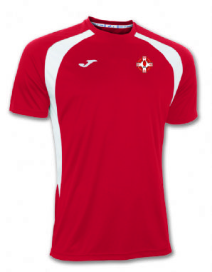 St. Michaels GAC JOMA Champion III T-Shirt - Red